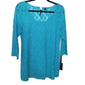 Skye's The Limit Lace Elegant Explorer Top NWT